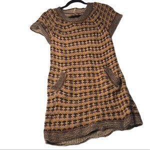 Missoni wool orange tag dress knit, vintage